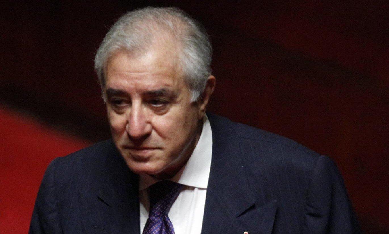 L'ex senatore Marcello Dell'Utri