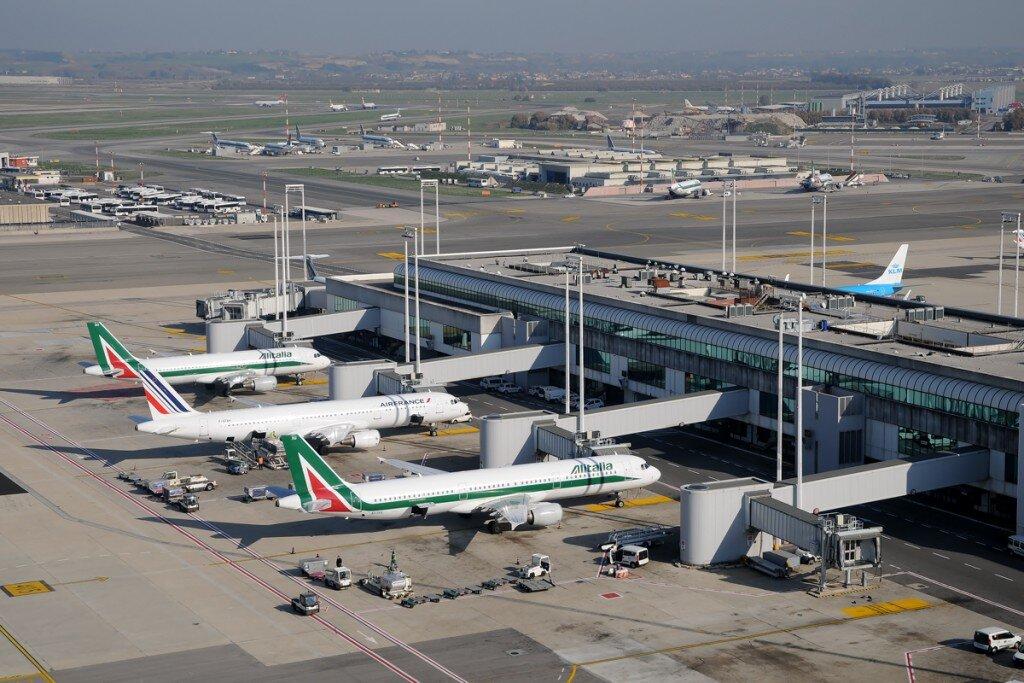 Fiumicino aeroporto di Roma