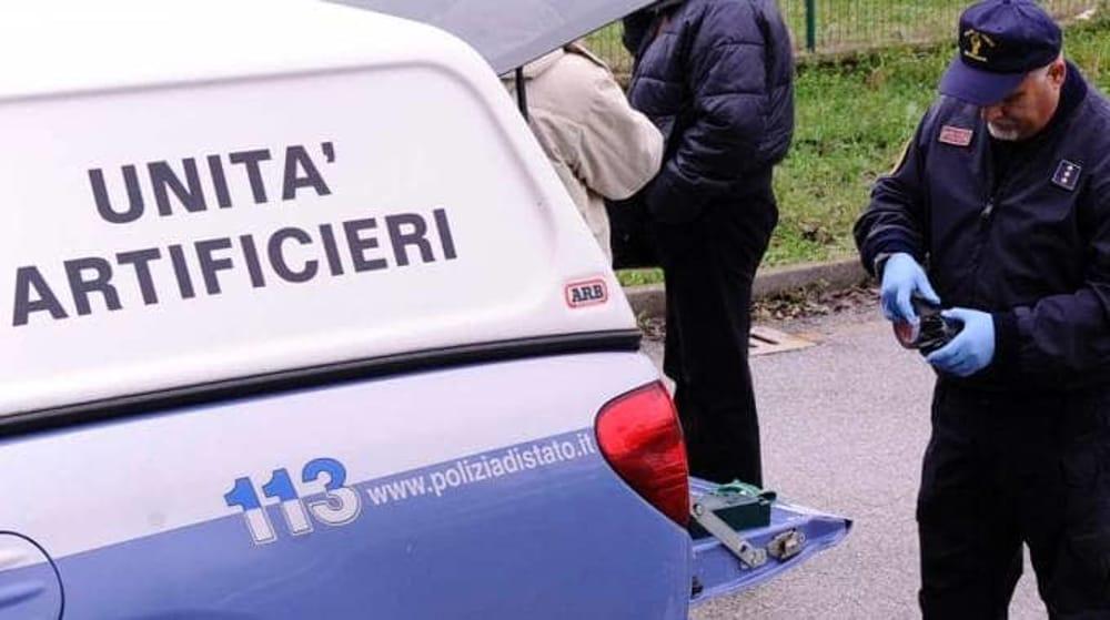 Artificieri, carabinieri, Allarme bomba
