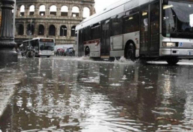 Piogge a Roma