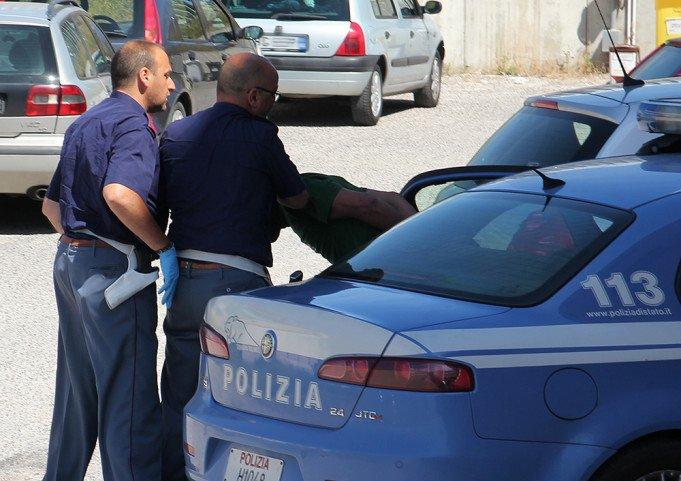 La polizia in azione a Roma