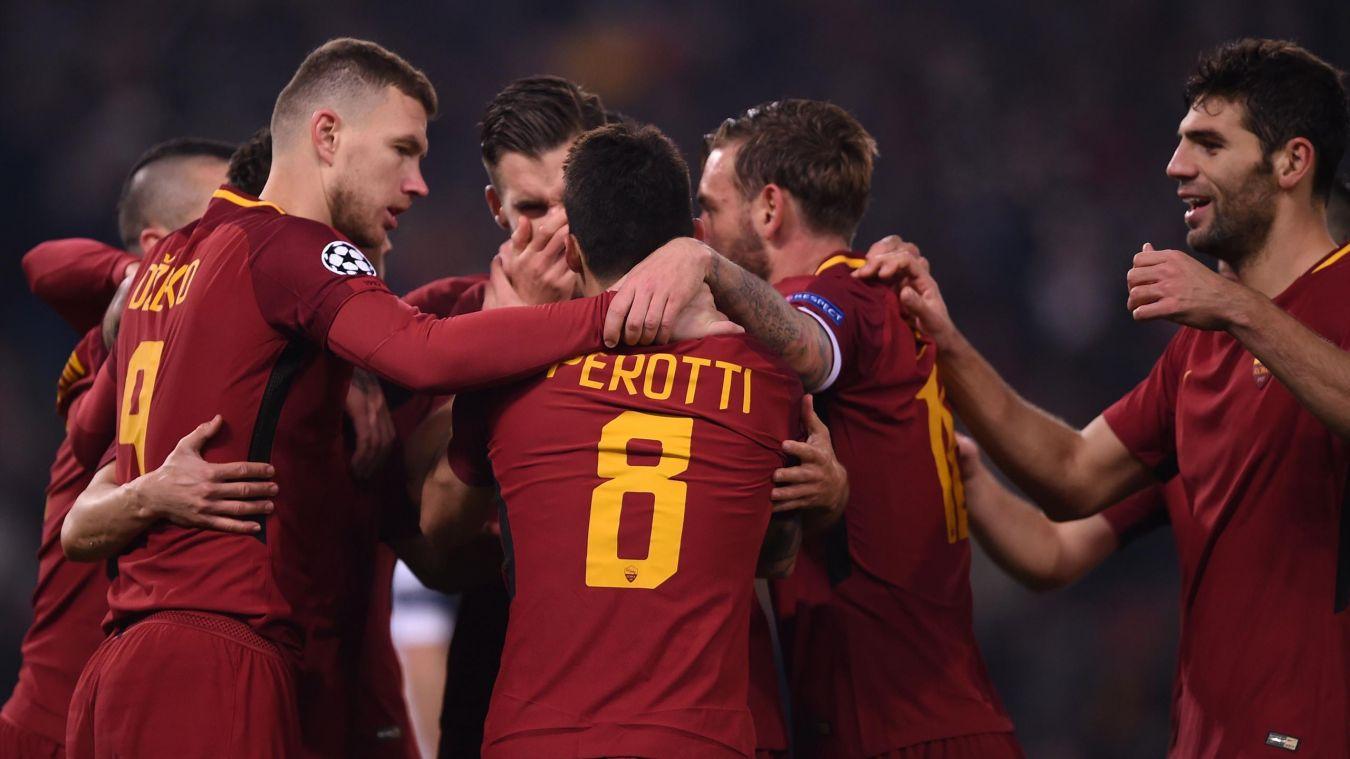 La squadra della As Roma