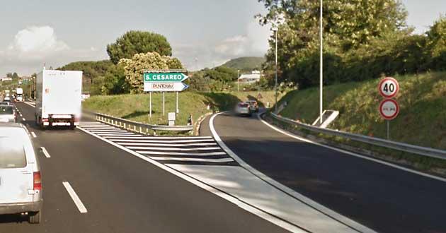 A1 uscita San Cesareo