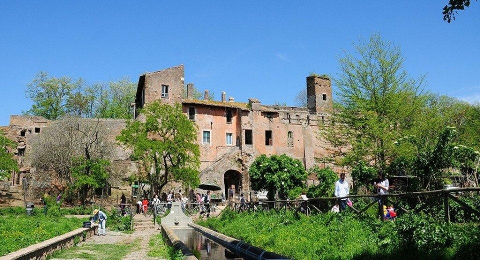 Il parco della Caffarella a Roma