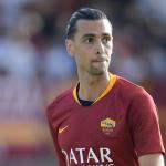 Il centrocampista della Roma Pastore