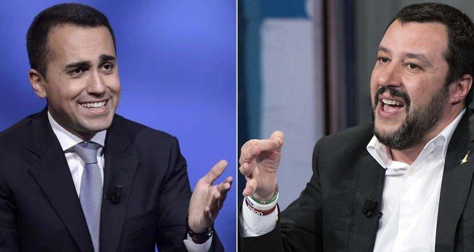 Salvini e Di Maio a colloquio