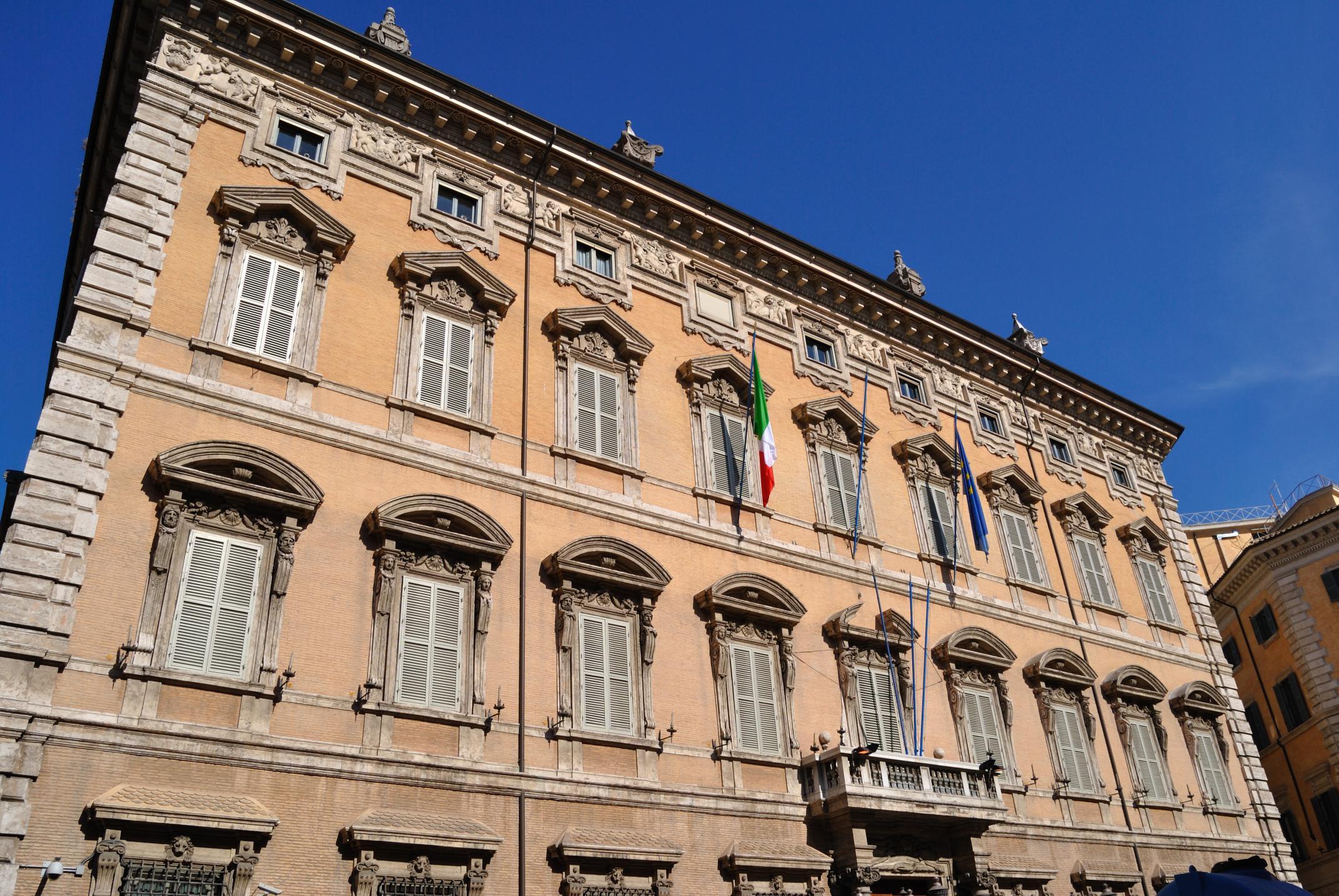 Roma palazzo madama aperto al pubblico la cronaca di roma for Senato della repubblica sede