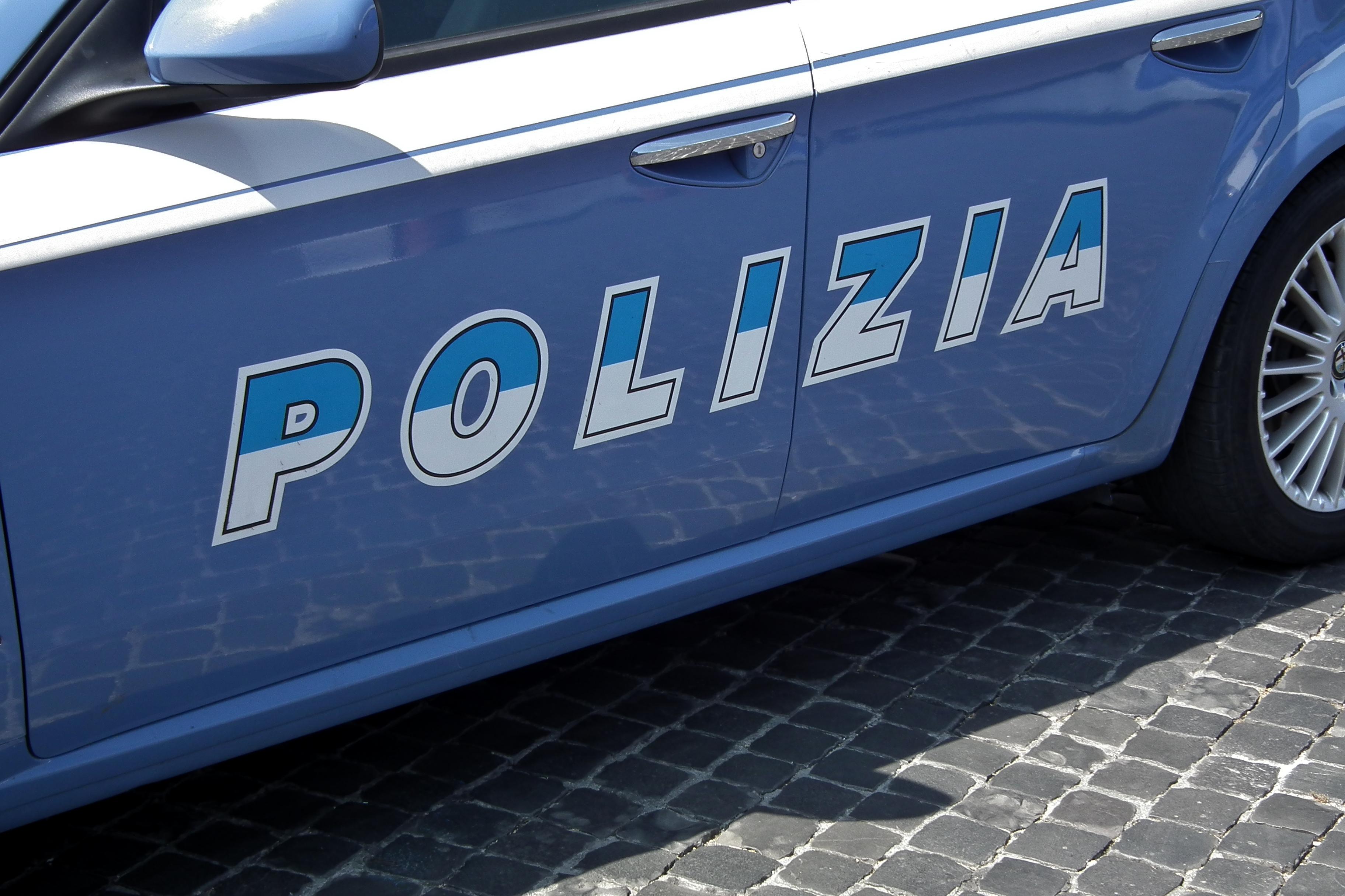 Polizia in azione a Roma