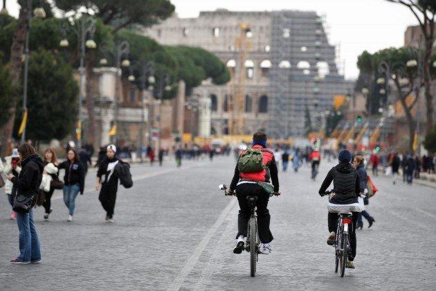 domeniche ecologiche a Roma dal 18 novembre