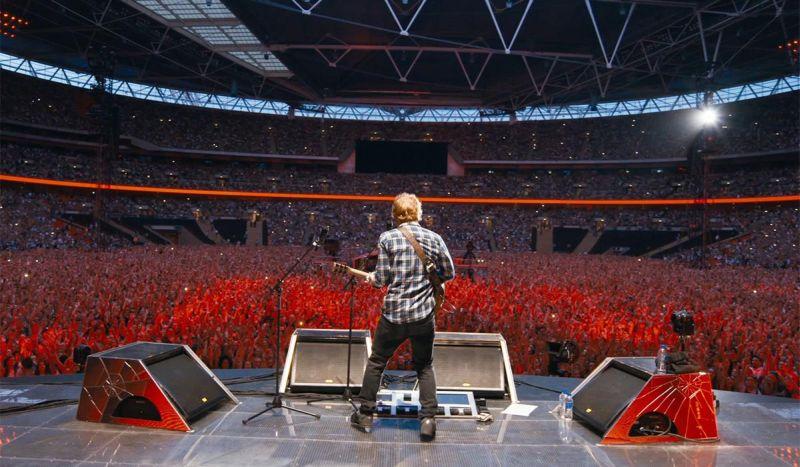 Concerto Ed Sheeran Londra