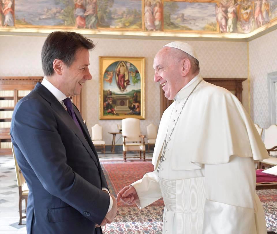 Conte, Papa Francesco