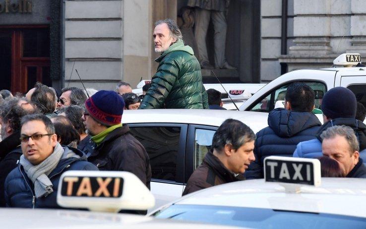Taxi protesta, tassisti