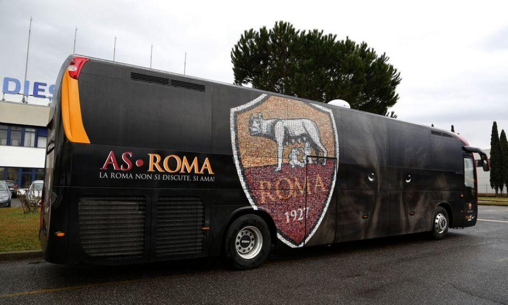 Il pullman della Roma