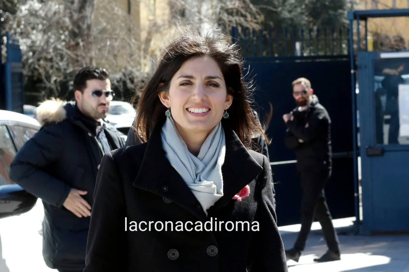 La sindaca di Roma Raggi