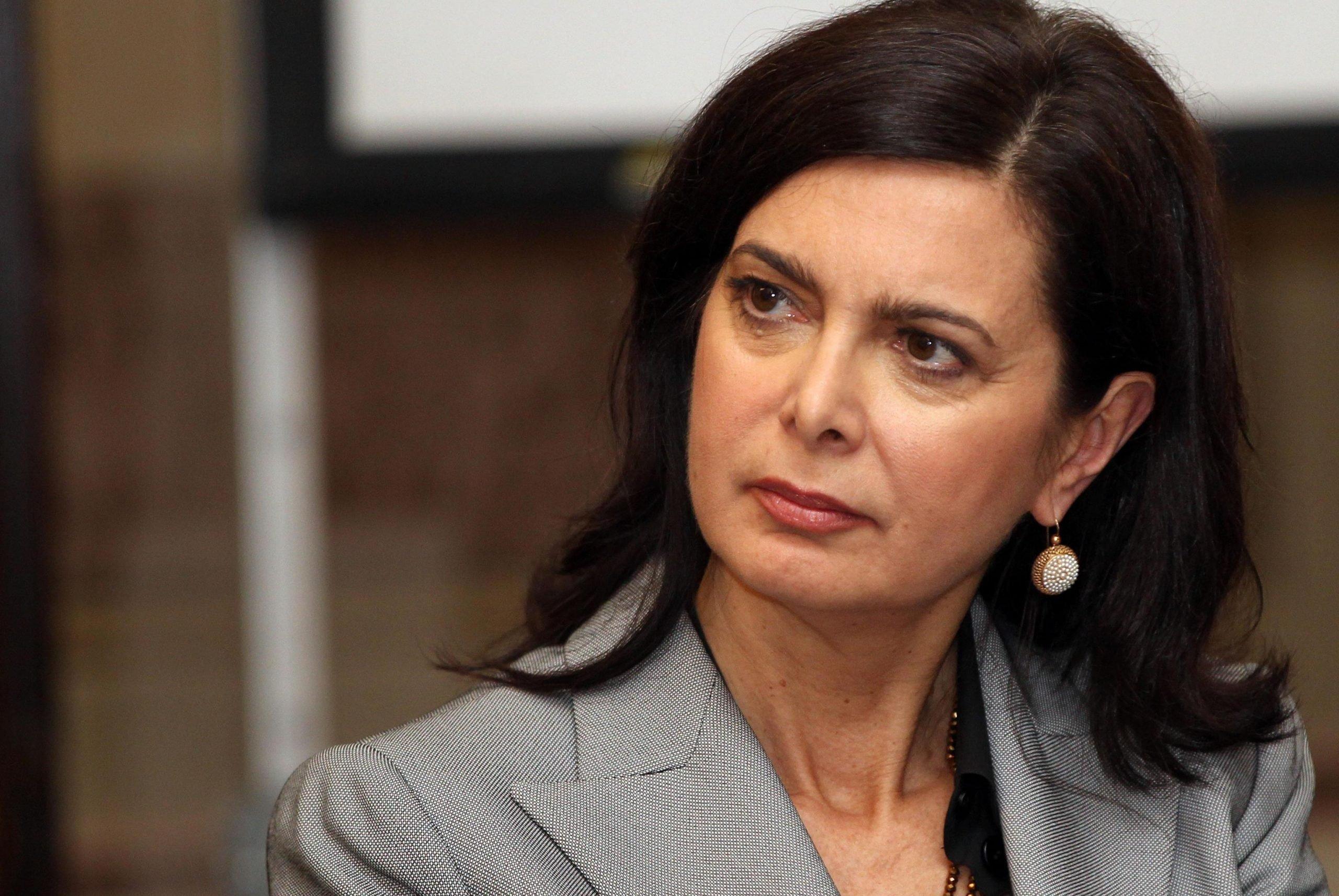 Laura Boldrini a favore dell'abbassamento dell'Iva sugli assorbenti