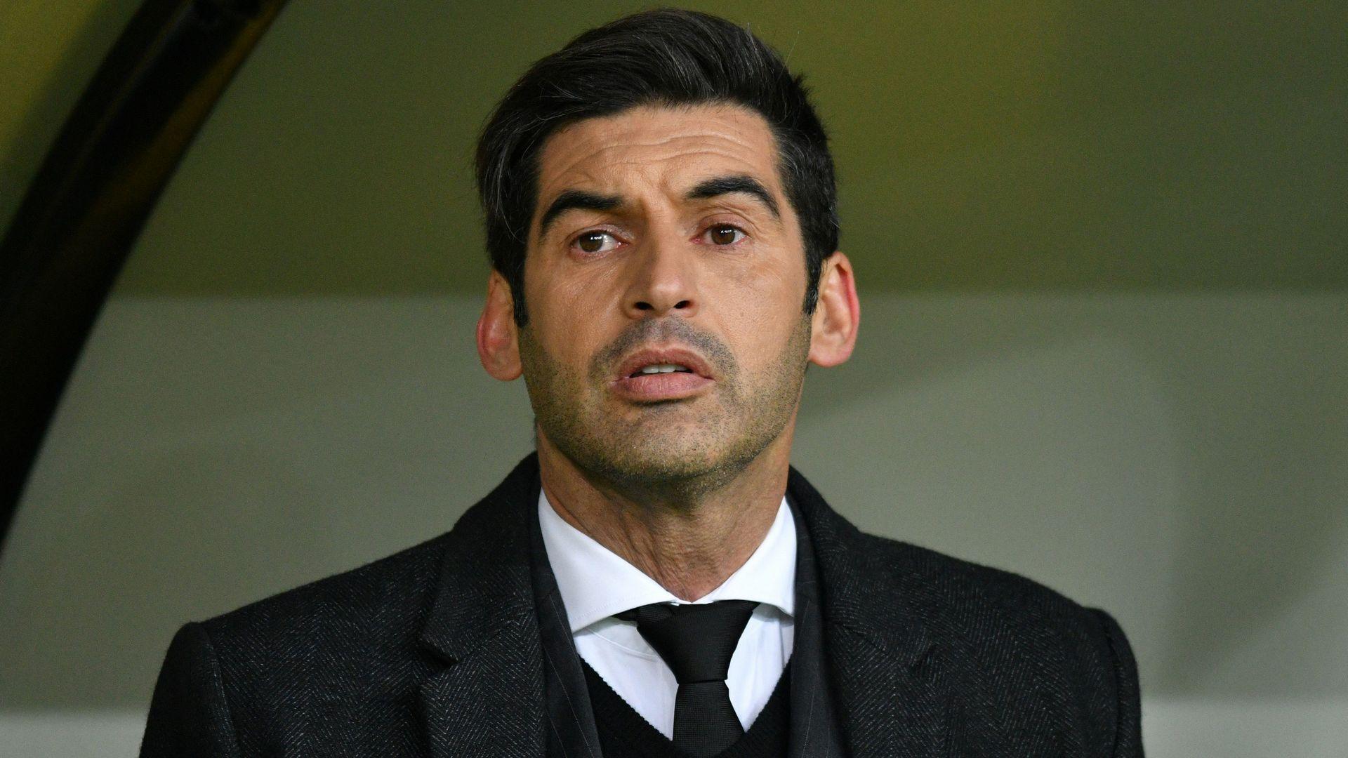 ROMA Fonseca, probabile nuovo allenatore