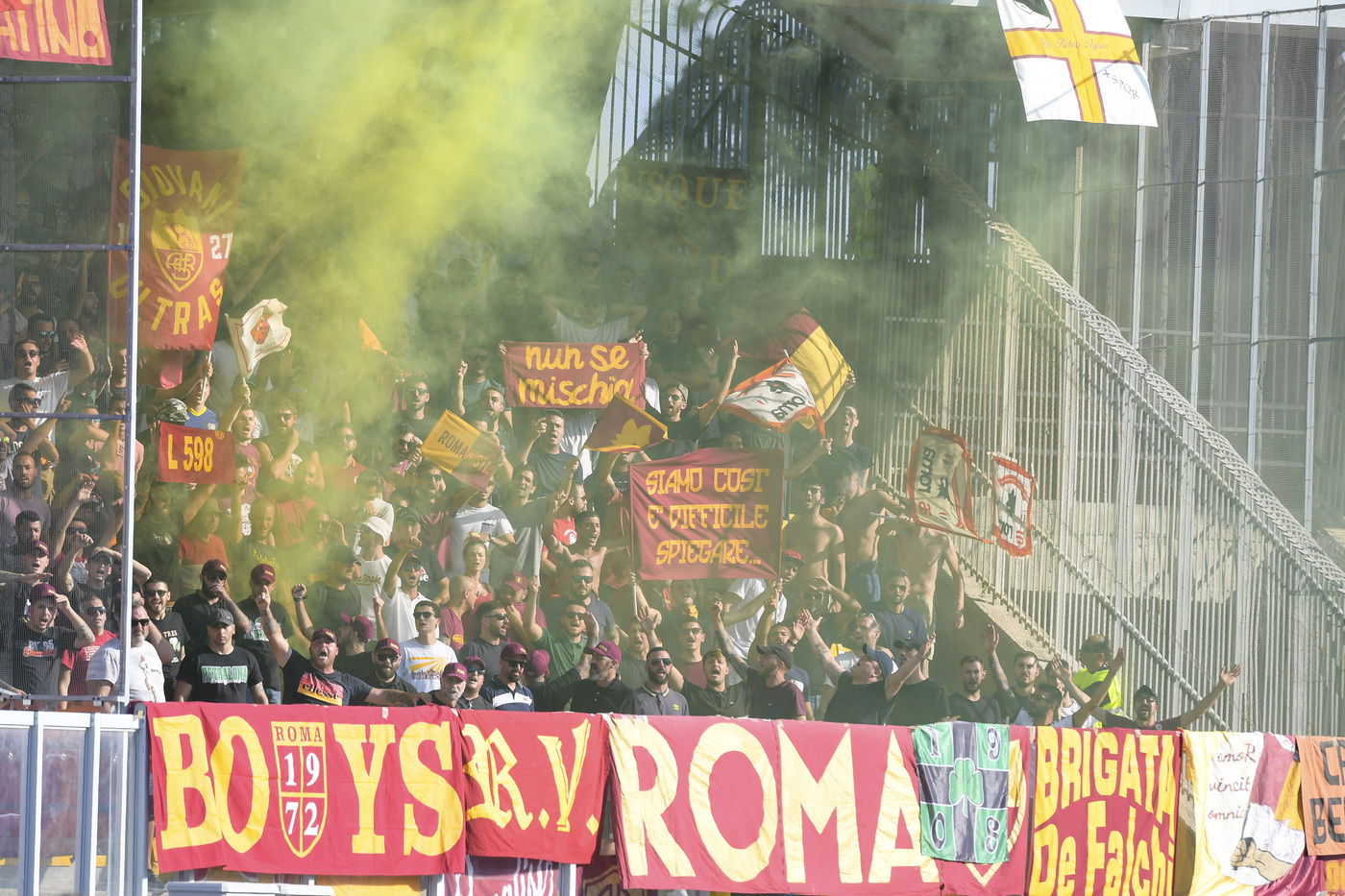 big match roma