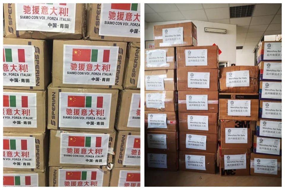 La Repubblica Ceca ha sequestrato mascherine dalla Cina per l'Italia