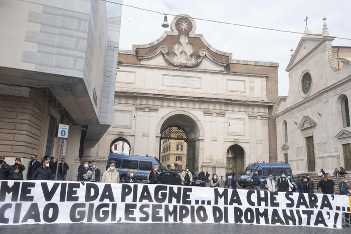 Gigi Proietti funerali