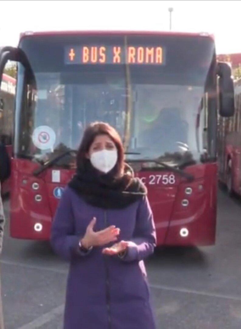 Virginia Raggi nuovi bus atac