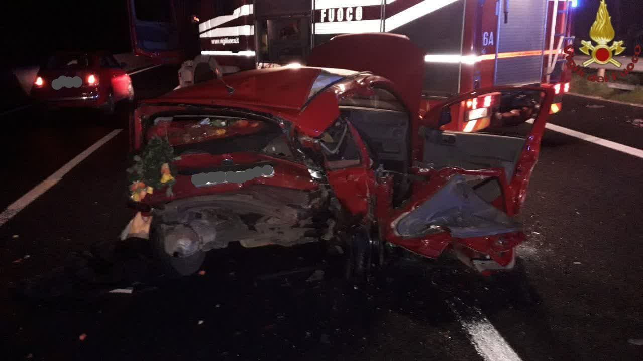 ROMA - Brutto incidente stradale