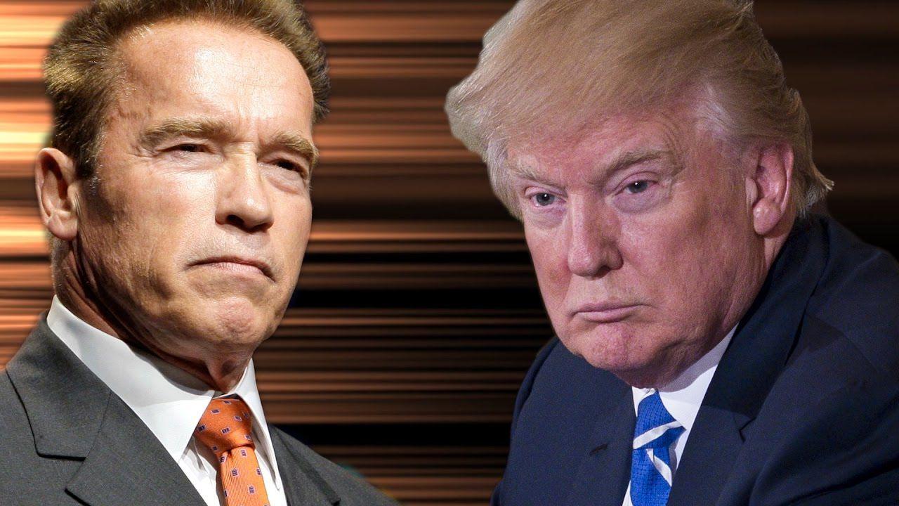 Arnold Schwarzenegger : Trump? Un fallito, il peggior presidente della storia