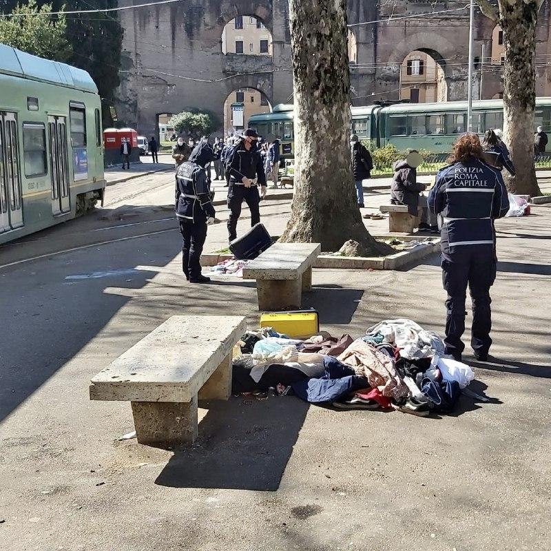 ESQUILINO Controlli Sanitari Della Polizia