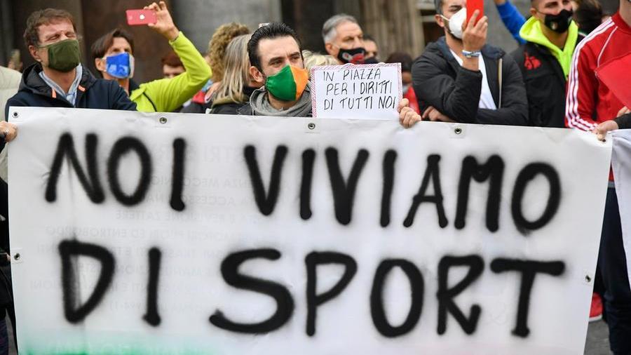 protesta palestre Roma